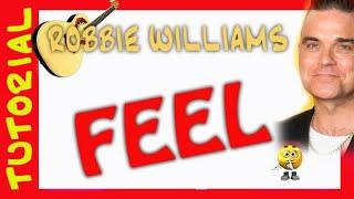 Como Tocar FEEL Robbie Williams
