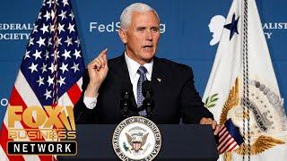 VP Pence speaks at Detroit Economic Club event