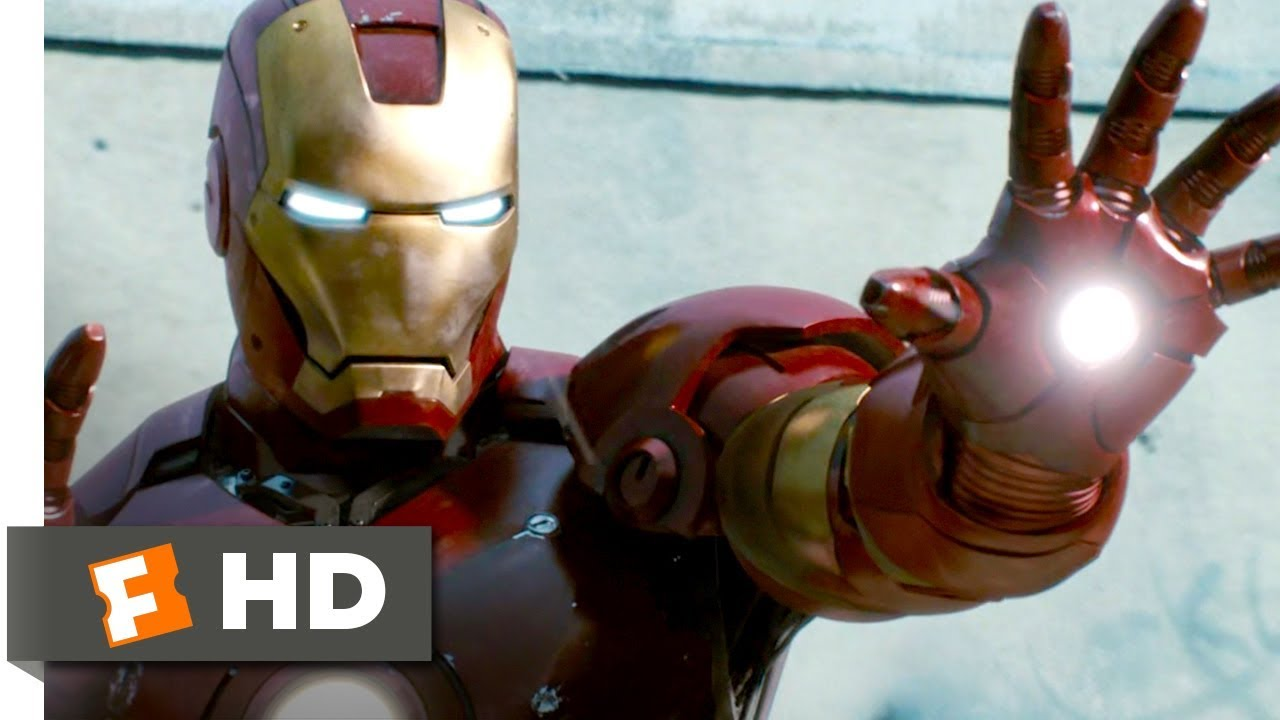 Iron Man To The Rescue Iron Man 89 Movie CLIP 2008
