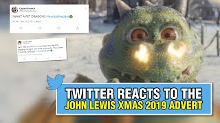 Twitter reacts to the John Lewis Christmas 2019 advert