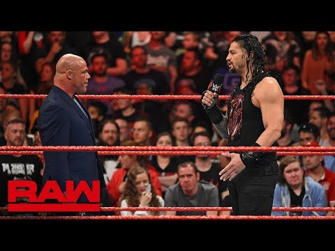 Kurt Angle denies Roman Reigns another Money in the Bank Qualifying Match: Raw, May 14, 2018 thumbnail