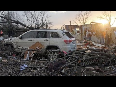 Tornadoes, Storms Sweep Across Southern U.S.