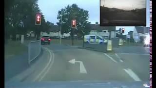Shocking police footage shows 100mph pursuit around Scarborough