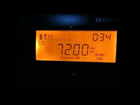 7200 Khz Myanmar Radio Yangon