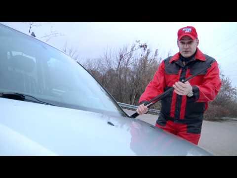 Видео как снять дворники