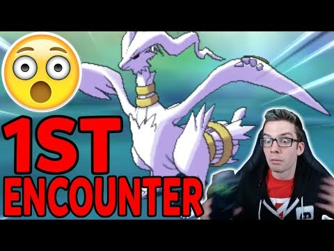 *FIRST* ENCOUNTER SHINY RESHIRAM! Shiny Legendary Pokemon Reaction! Pokemon Ultra Sun & Ultra Mo
