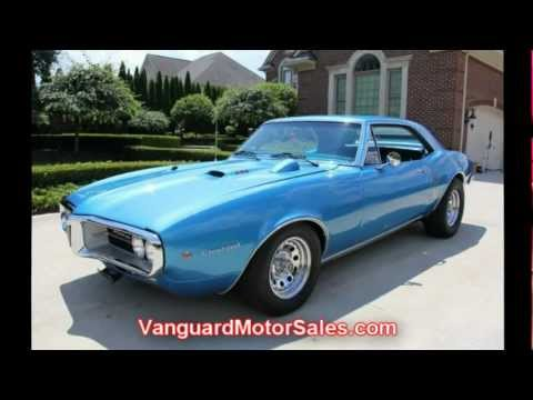 1967 Pontiac Firebird Classic Muscle Car for Sale in MI Vanguard Motor Sales