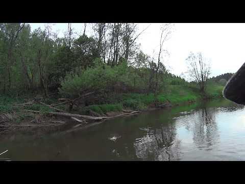 рыболовные места на реке луга