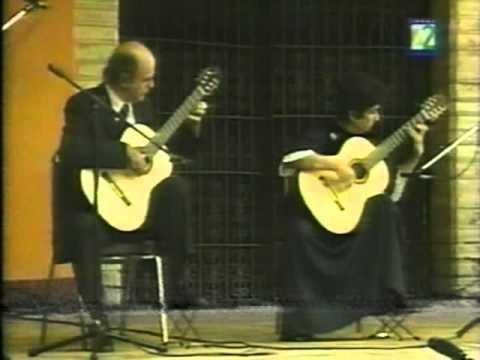 Domenico Scarlatti: Sonata K. 159 C Major / L.104 - Evangelos&Liza