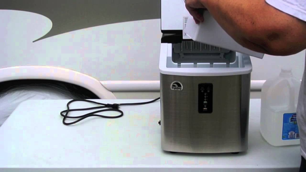 Review of the Igloo ICE103 Portable Ice Maker. - YouTube