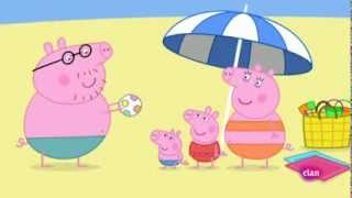 Windows Phone Game | Pepa Pig Español En la playa | Pepa Pig Español En la playa
