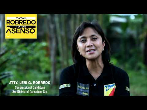 Message of Atty. Leni G. Robredo for Filipino Supporters in Congressional Campaign 2013