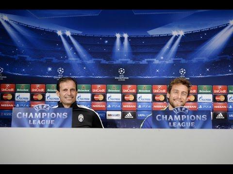 LIVE - Conferenza stampa/Rueda de prensa  pre Juventus - Club Atletico de Madrid