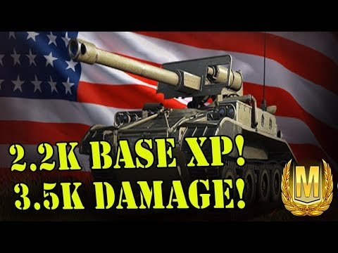 M56 Scorpion Ace Mastery || 2.2k Base XP! 3.5k DAMAGE! (World of Tanks Xbox Console)