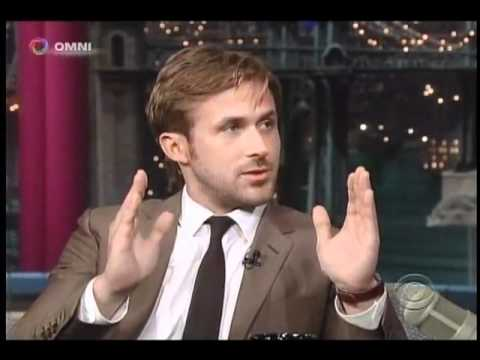 Ryan Gosling on David Letterman (July 2011)