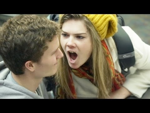 Stank Breath Prank at  Most Honest College in America