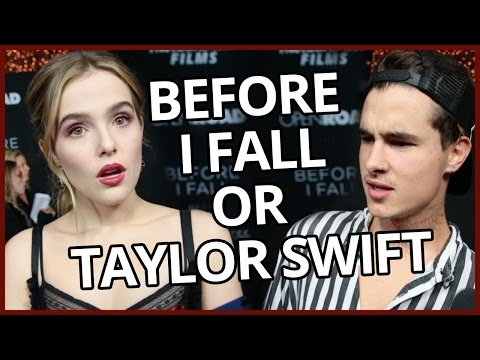 TAYLOR SWIFT VS BEFORE I FALL - Song Lyric or Line From Movie? w/ Kian Lawley & Zoey Deutch