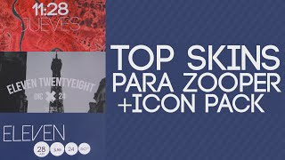 Top Skins para Zooper + Icon pack | Sr Android |