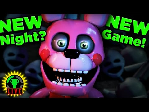 FNAF SISTER LOCATION CUSTOM NIGHT | It's like a BRAND NEW GAME?!?!