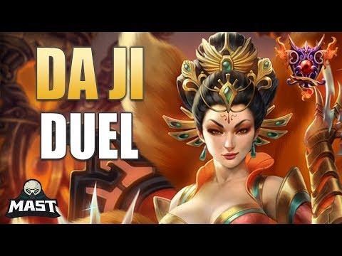 Da Ji Duel Gameplay | SMITE Masters Ranked | Newly Buffed!