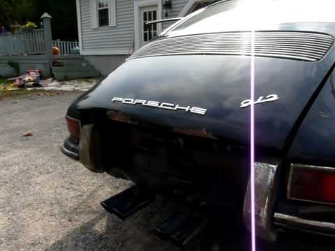 1966 Porsche 912 Barn Find with Performance Exhaust -First Start