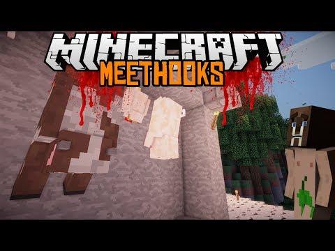 Minecraft mody 1.6.4 #41 Meat Hooks Zostań Rzeźnikiem