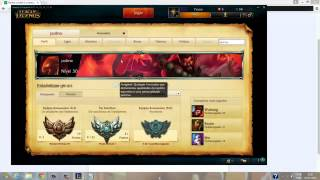 Hacker de contas no league of legends Atualizado 18/03/2015