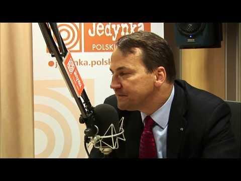 Radosław Sikorski: Polska i Wielka Brytania mają wspólne interesy (Jedynka)