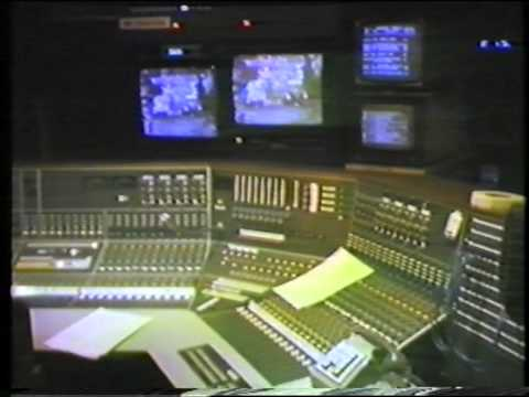 BBC TV Studio B, New Broadcasting House, Manchester - 1981