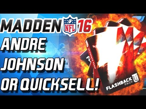 ANDRE JOHNSON OR QUICKSELL! - Madden 16 Ultimate Team