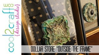 DIY: Easy Home Dec Wall Art with Dollar Store Frames