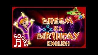 Chhota Bheem - Birthday Special Song in English