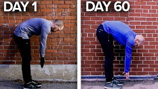 I Stretched my Hamstrings Every Day for 60 Days - 8 Week Flexibility Challenge