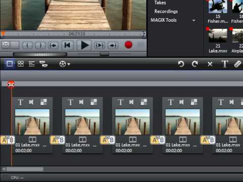 Tutorial: MAGIX Movie Edit Pro 15 - Intro Tutorial, Short Overview!