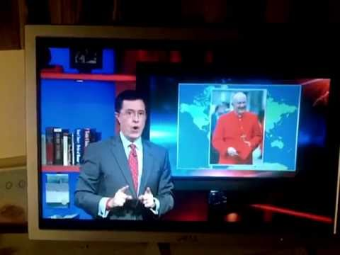 Stephen Colbert on a Canadian Pope