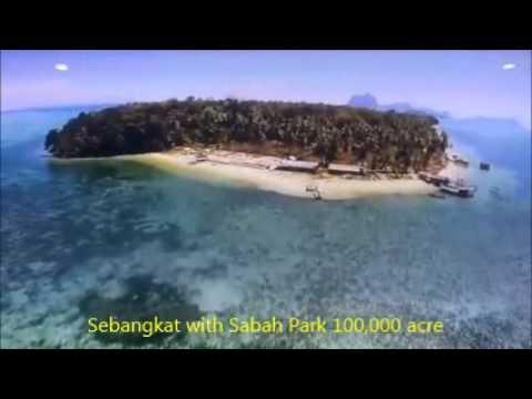 Sebangkat Island Tun Sakaran Marine Park