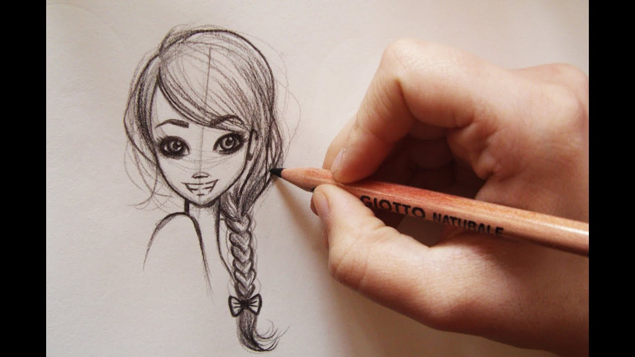 Come disegnare i capelli how to draw manga hair 3 for Immagini di cavalli da disegnare