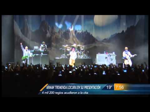 Las Noticias - Limp Bizkit se presentó en Monterrey