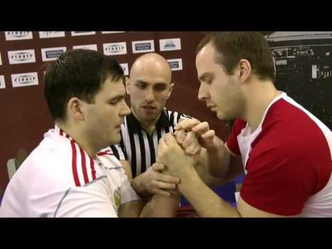 Alexander DRUSHCHITS vs Ivan MATYUSHENKO (cat. 110kg, left hand, RUS_Nationals 2015)