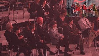 190424 BTS Reaction to (G)I-DLE (여자아이들 무대보는 방탄소년단) 4K 직캠 by 비몽