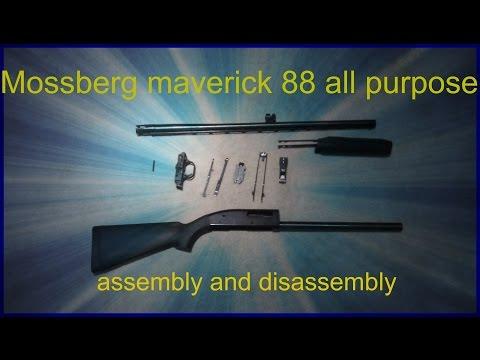 Mossberg maverick 88 all purpose assembly and disassembley