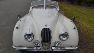 SOLD 1954 Jaguar XK120 Roadster for sale by Corvette Mike Anaheim California 92807