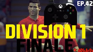 FIFA 16 FULL DIVISION 1 GAMEPLAY - PROFESSIONAL PLAYER / LIVE CONTROLLER #2 / TITLE