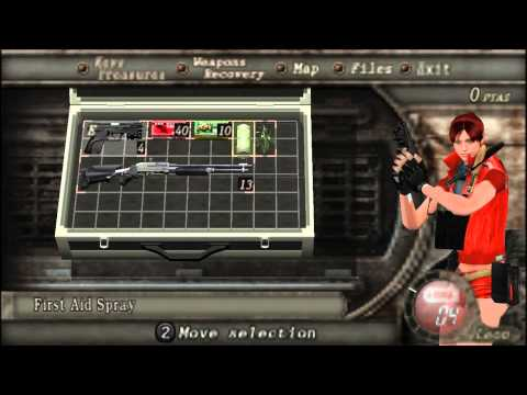 Resident Evil 4 PC Evil Claire with voice mod
