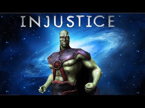 Injustice iOS - Martian Manhunter Review!