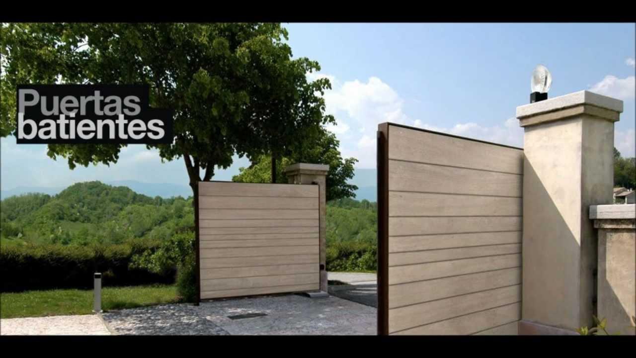 Puertas automaticas puertas de garajes automatismos - Automatismos puertas de garaje ...