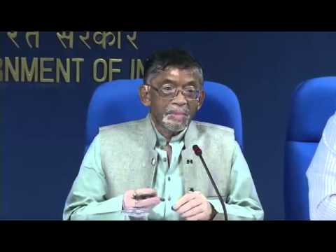 Press Conference by Shri Santosh Kumar Gangwar Minister for...
