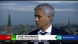 'Salah can hurt Russia': Mourinho's forecast for the 'crucial match'