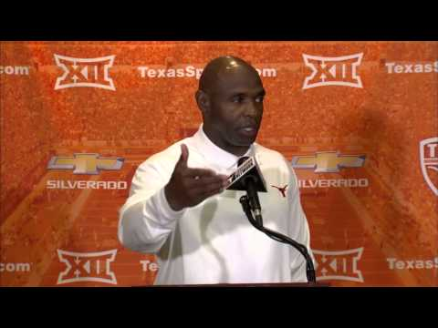 Charlie Strong Monday press conference [Nov. 3, 2014]