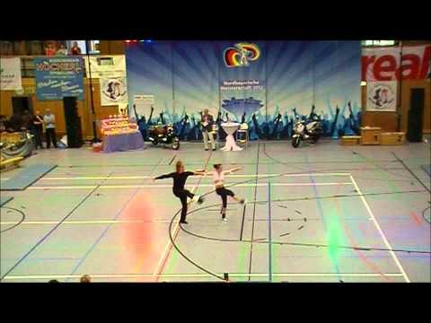 Tanja Achatz & Maximilian Achatz - Nordbayerische Meisterschaft 2012